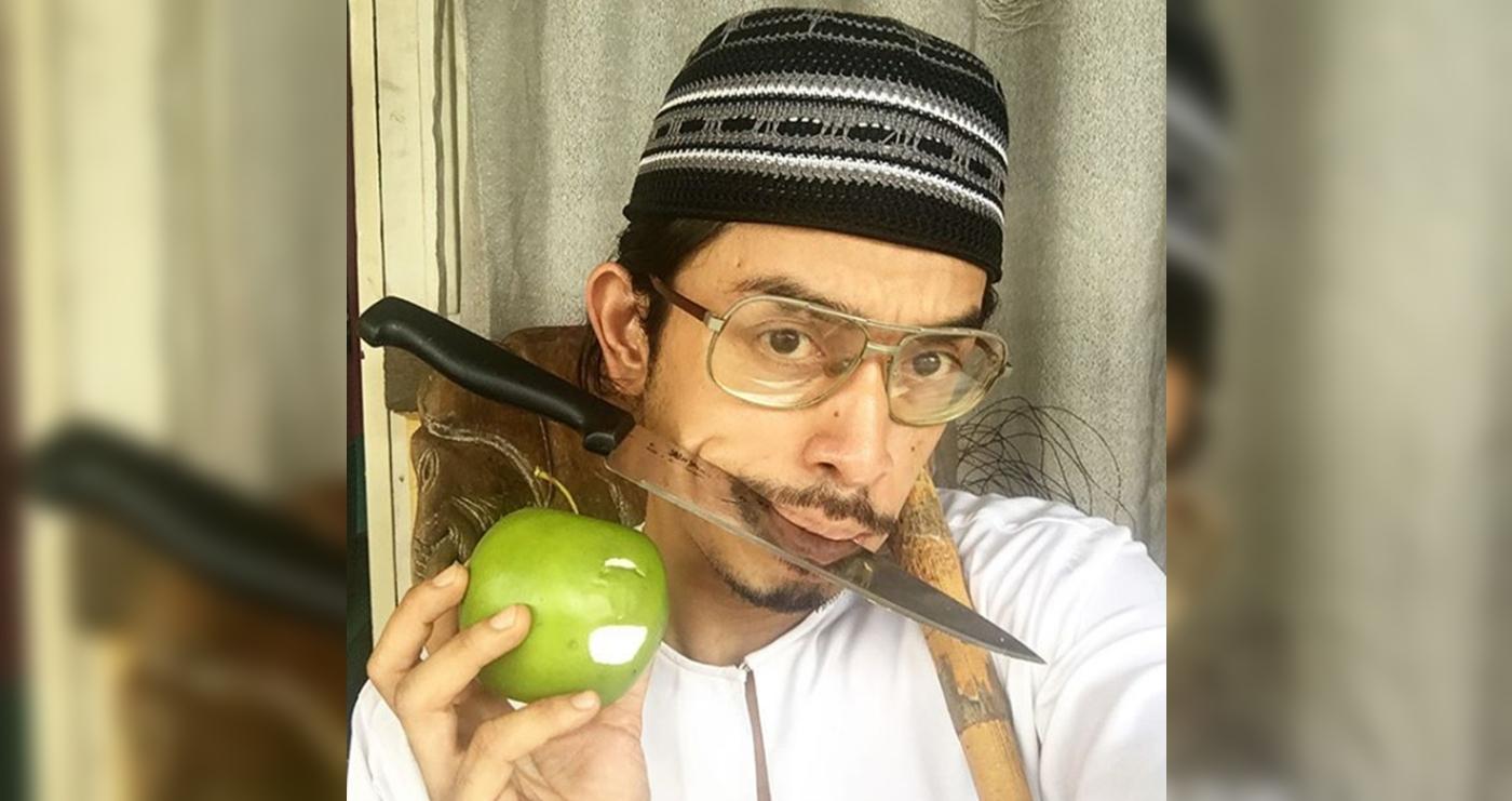 salam terakhir iqram dinzly sudah tidak kuat