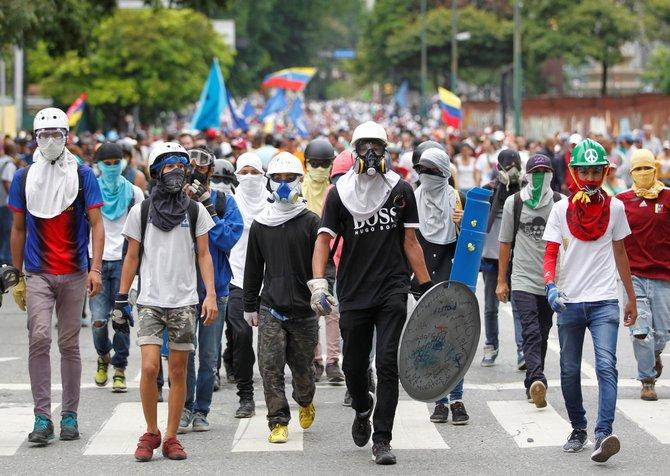 samseng bermaharajalela di venezuela hiperinflasi
