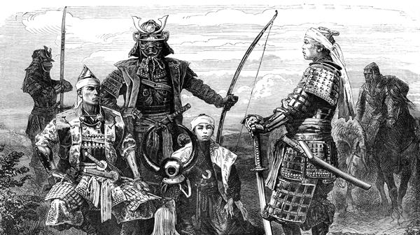 samurai berkulit hitam