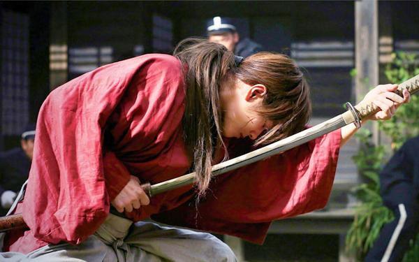 samurai dan pedang songsang