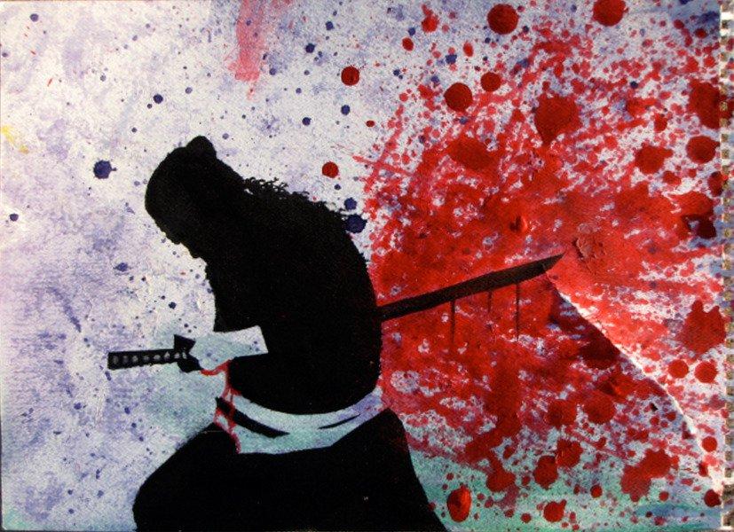 samurai jepun seppuku simbolik maruah perlu dijaga