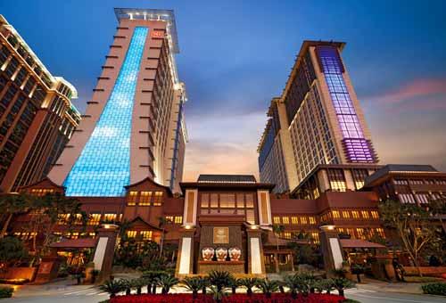 sands cotai central bangunan paling besar di dunia
