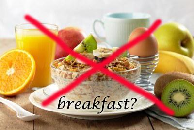 sarapan penting untuk memulakan harian anda