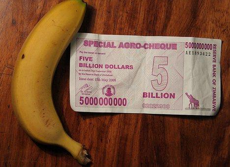satu pisang berharga 5 billion