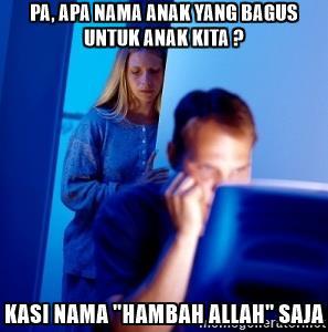 sebaik baik nama di sisi allah adalah abdullah dan abdur rahman