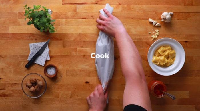 sedia untuk di masak