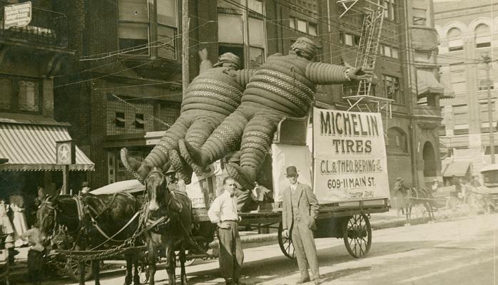 sejarah awal syarikat michelin