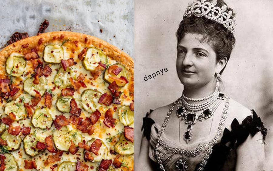 sejarah penghantaran pizza oleh ratu itali