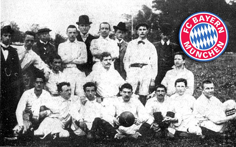sejarah penubuhan kelab bola sepak bayern munich