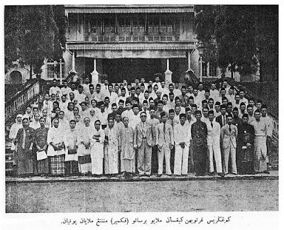 sejarah penubuhan umno kongres melayu se malaya