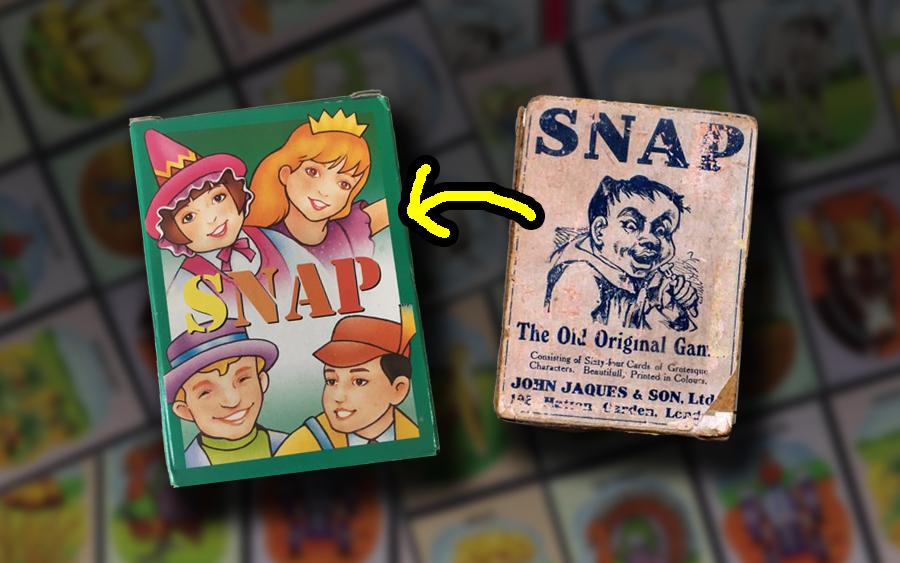 sejarah permainan kad card game happy family snap donkey