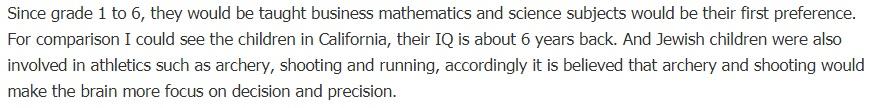 sekolah rendah israel belajar matematik sains