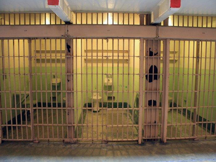sel atau bilik penjara alcatraz