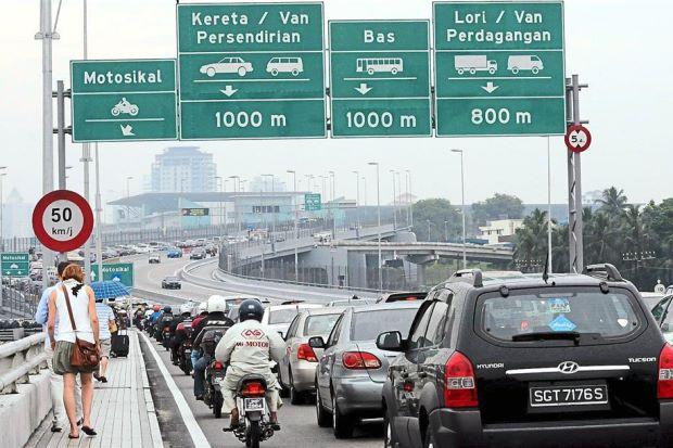 sempadan antara malaysia dan singapura