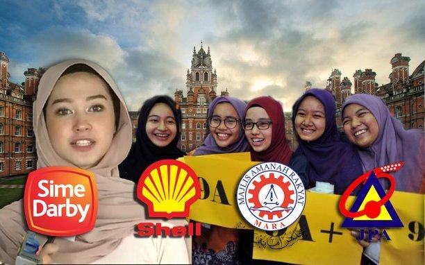 senarai biasiswa penuh pengajian dalam luar negara bagi pelajar lepasan spm stpm 2017
