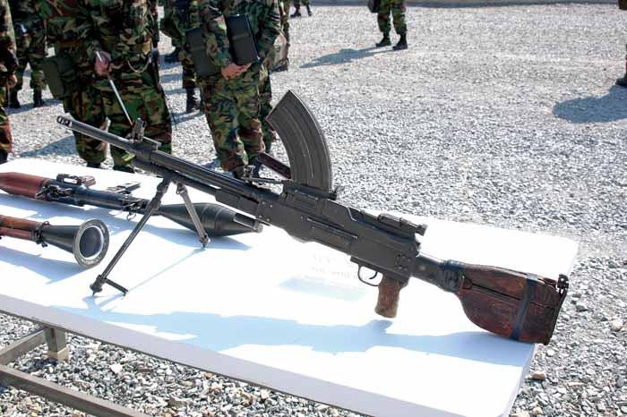 senjata api korea utara