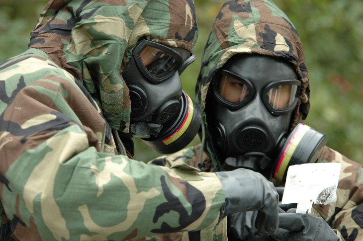 senjata kimia paling merbahaya racun vx