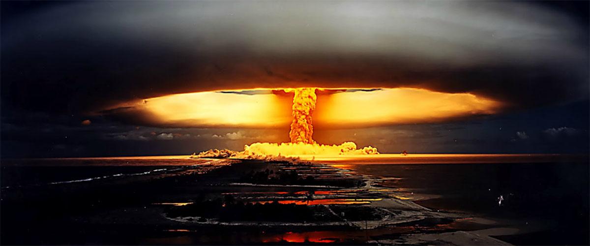 senjata nuklear berbahaya