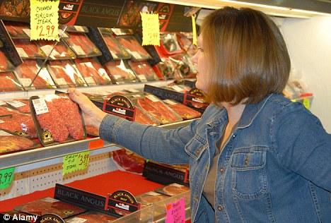 sentuh daging untuk rasa sejuk atau tidak