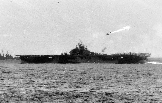 serangan kamikaze jepun pada november 1944