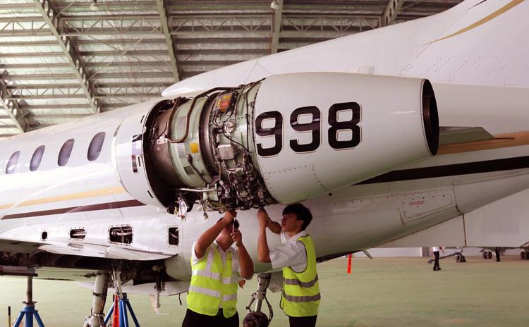 servis penyelenggaraan pesawat