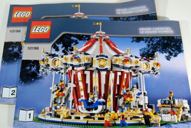 set lego grand carousel