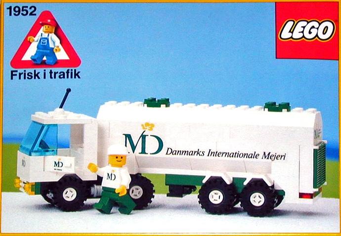 set lego milk truck