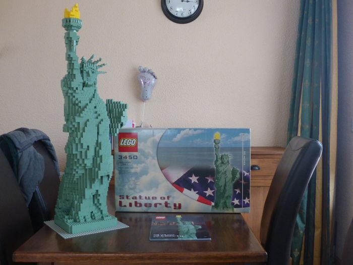 set lego statue of liberty