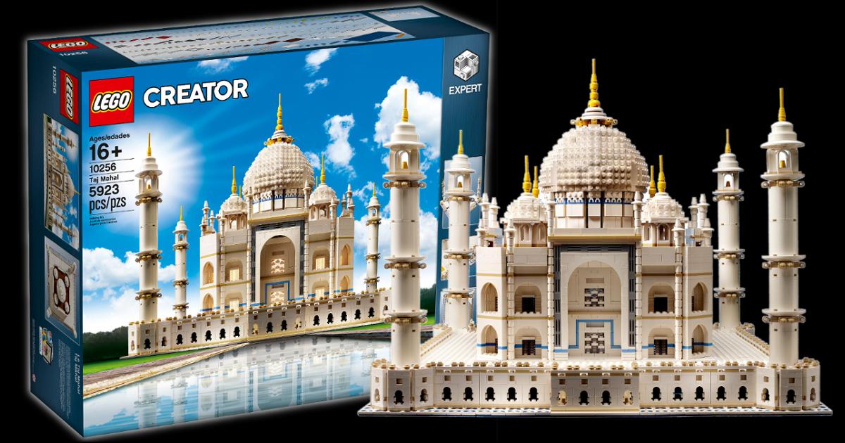 set lego taj mahal paling mahal di dunia
