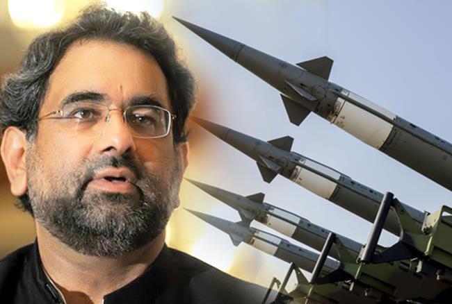 shahid khaqan abbasi pakistan nuklear
