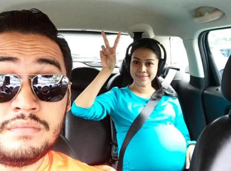 sharifah sakinah selamat melahirkan anak 1