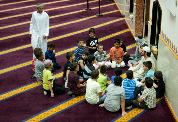 sheikh ahmed menyampaikan tazkirah