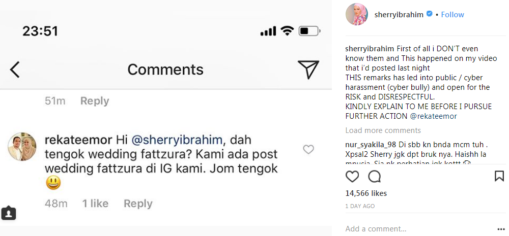 sherry ibrahim mengamuk dengan perancang perkahwinan fattah amin fazura 2