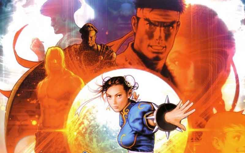 shinkiro street fighter lukisan visual seni ilustrasi