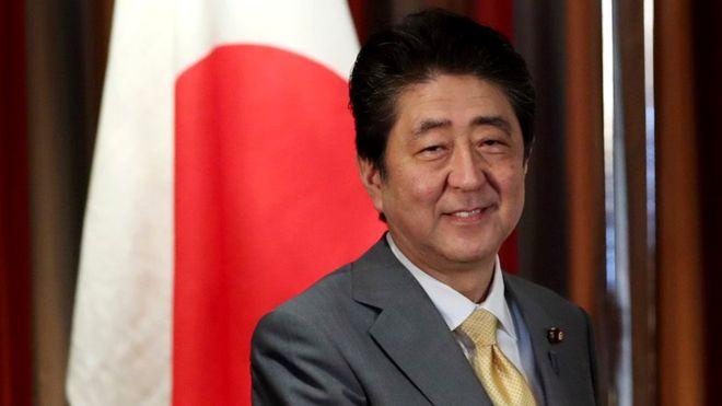 shinzo abe perdana menteri jepun
