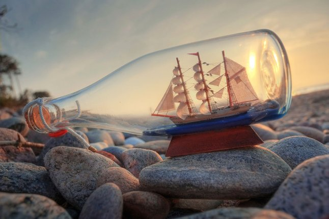 ship in a bottle 800