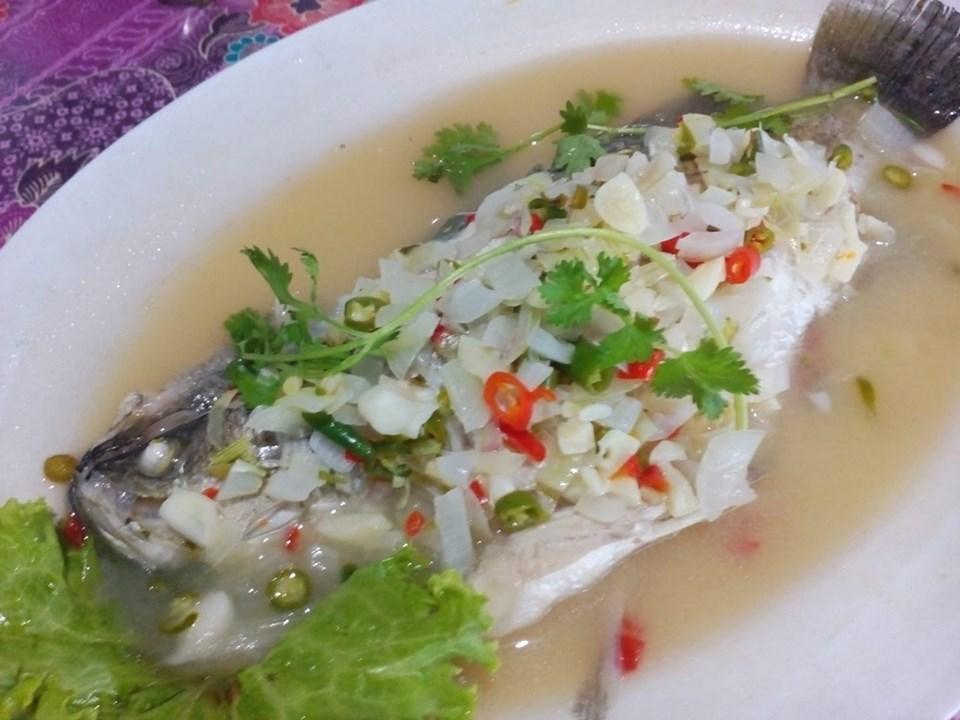 Resepi Siakap Stim Limau Ala Thai Sedap Dan Juicy Iluminasi
