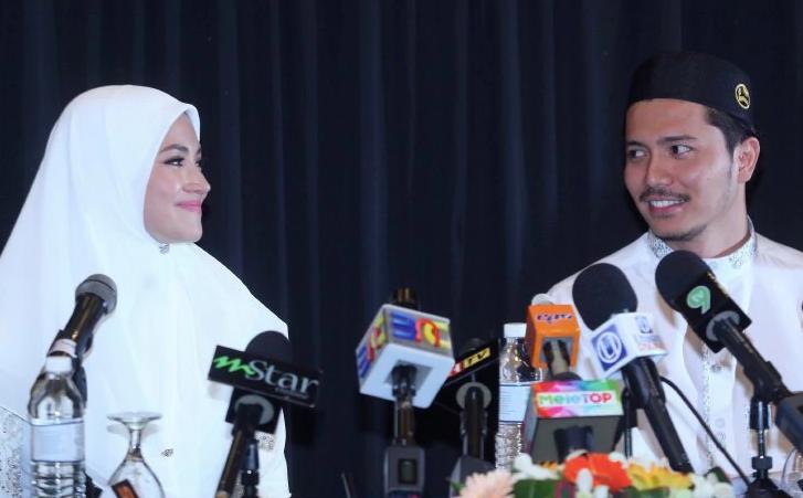sidang media fattah dan fazura lerai spekulasi pernikahan