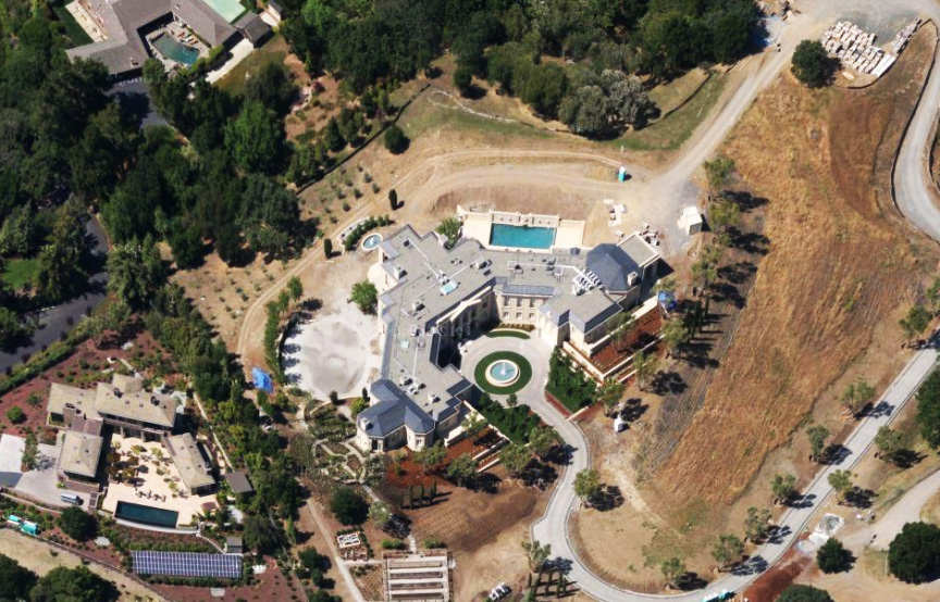 silicon valley mansion rumah yuri milner