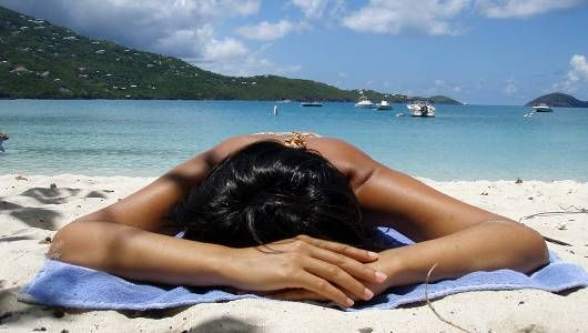 sinaran uv boleh menyebabkan kanser berjemur tanpa perlindungan sunscreen
