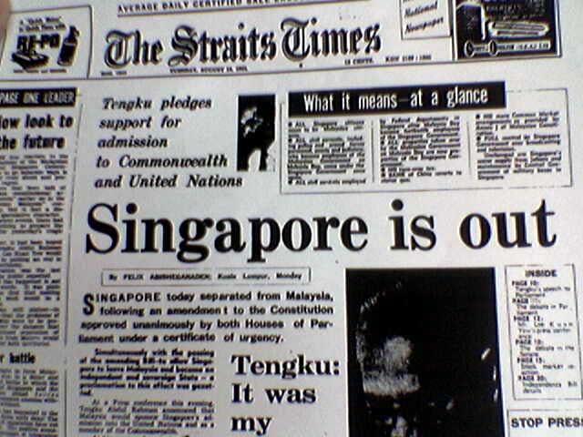 singapura berpisah daripada malaysia