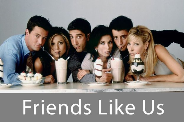 sitcom friends mempunyai nama lain sebelumnya