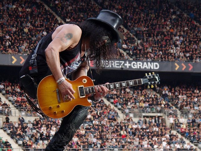 slash les paul konsert