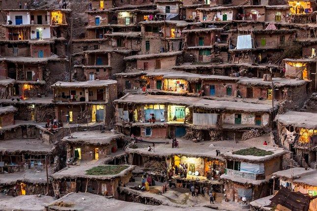 slum house masouleh iran