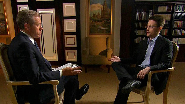 snowden interview pendedahan