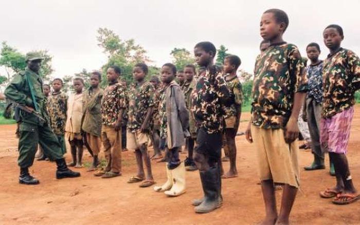 somalia negara paling ramai tentera kanak kanak