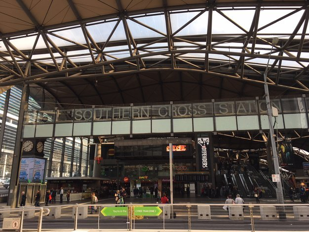 southern cross station itinerary melbourne