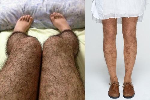 span bulu kaki