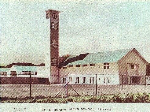 st george s girls school di penang yang ditubuhkan pada 1884