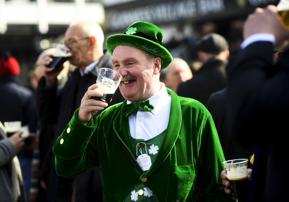 st patricks day cheltenham festival uk march 17 2016